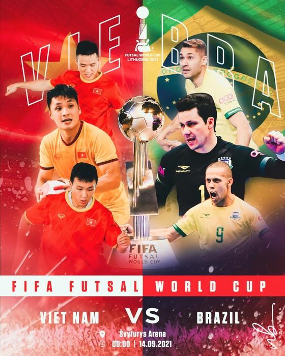 Lịch thi đấu của Đội tuyển futsal Việt Nam tại World Cup 2021 ảnh 1