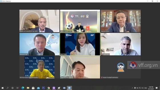 Buổi họp trực tuyến của Ban thi đấu AFF