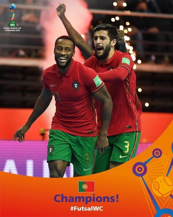 Bồ Đào Nha lần đầu đăng quang futsal World Cup ảnh 1