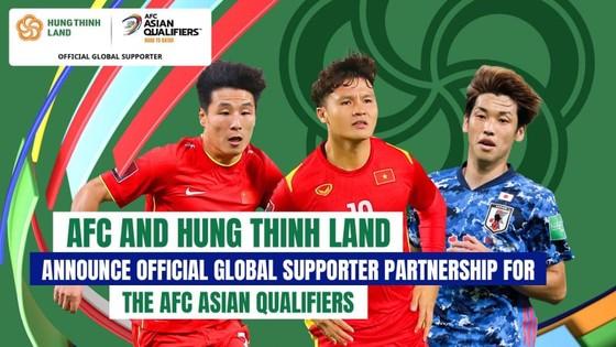 Hưng Thịnh Land tham gia tài trợ vòng loại World Cup 2022 khu vực châu Á