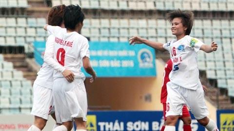 Đội nữ Hà Nội đặt mục tiêu sớm giành lại vị trí số 1 ở giải VĐQG