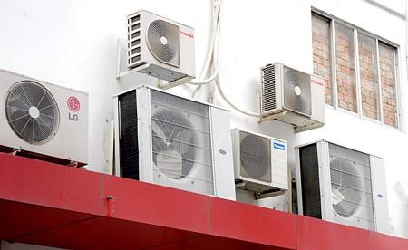 Máy điều hòa không khí cần được loại trừ các chất HCFC và HFC