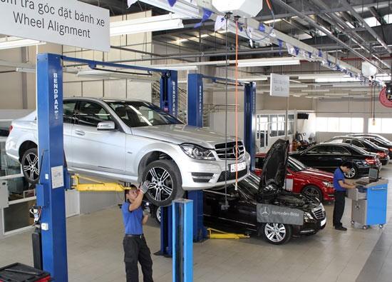 Triệu hồi sản phẩm Mercedes-Benz Việt Nam