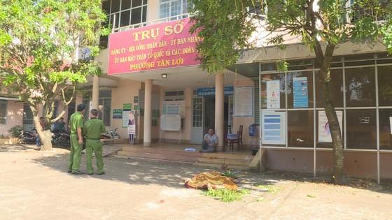 Cán bộ văn phòng đảng ủy phường tử vong tại trụ sở ảnh 1