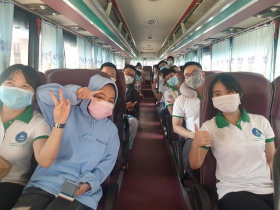 41 sinh viên Trường Đại học Tây Nguyên lên đường hỗ trợ Bình Dương chống dịch ảnh 5