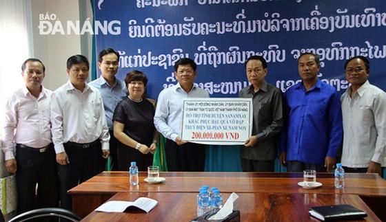 Đà Nẵng: Hỗ trợ các nạn nhân bị ảnh hưởng sự cố vỡ đập thủy điện ở Lào ảnh 3