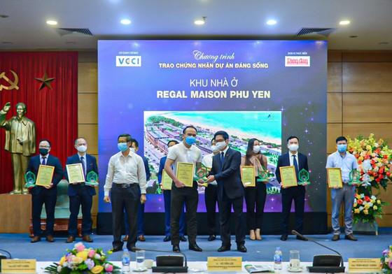 'Dự án đáng sống 2021' ghi danh Regal Maison Phu Yen của Đất Xanh Miền Trung trên bảng vàng ảnh 1