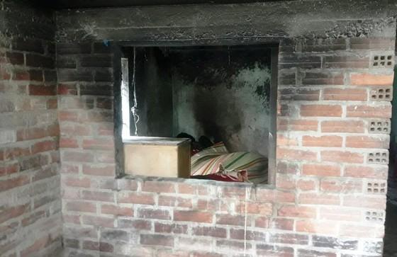 Một cụ bà bị chết cháy trong nhà ảnh 1
