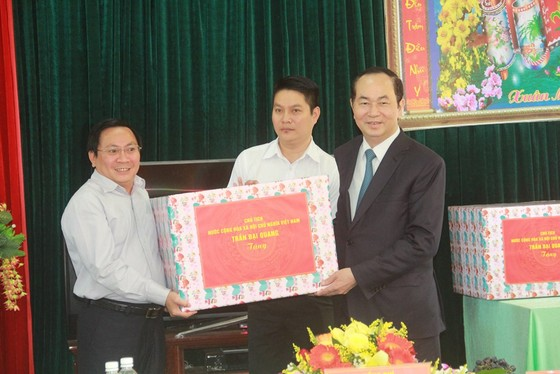 Chủ tịch nước Trần Đại Quang thăm, chúc tết đồn biên phòng, xã biên giới tại GIa Lai ảnh 3