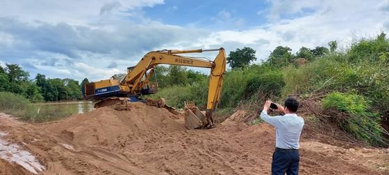 Khai thác cát lậu ở Ia Mơ, bị xử phạt 125 triệu đồng ảnh 1