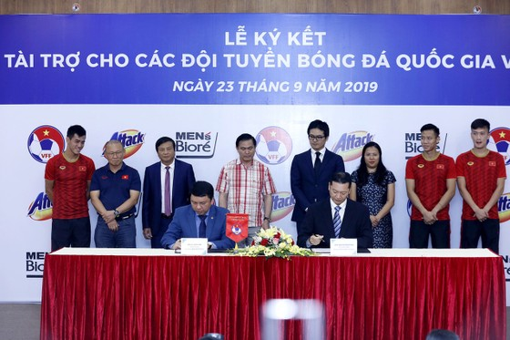 Các đội tuyển bóng đá quốc gia Việt Nam có thêm nhà tài trợ mới ảnh 1