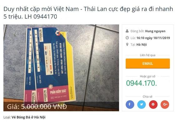 Vé chợ đen Việt Nam - Thái Lan tăng phi mã ảnh 2