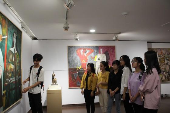 Triển lãm tranh, tượng của cố họa sĩ Lê Công Thành ảnh 2