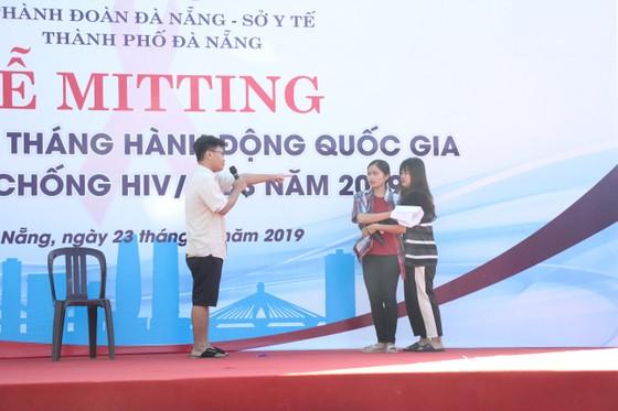 1.000 Đoàn viên Đà Nẵng hưởng ứng Tháng hành động quốc gia phòng, chống HIV/AIDS  ảnh 1