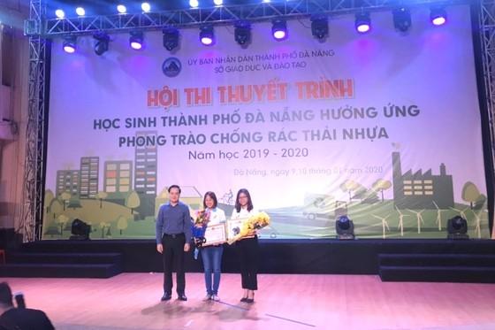 Hội thi thuyết trình Học sinh thành phố Đà Nẵng hưởng ứng phong trào chống rác thải nhựa ảnh 2
