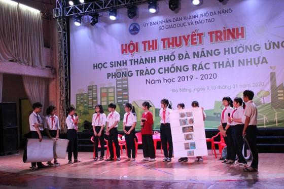 Hội thi thuyết trình Học sinh thành phố Đà Nẵng hưởng ứng phong trào chống rác thải nhựa ảnh 1