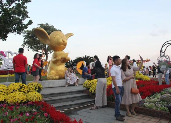 Đà Nẵng ngập tràn sắc xuân với đường hoa Tết  ảnh 3