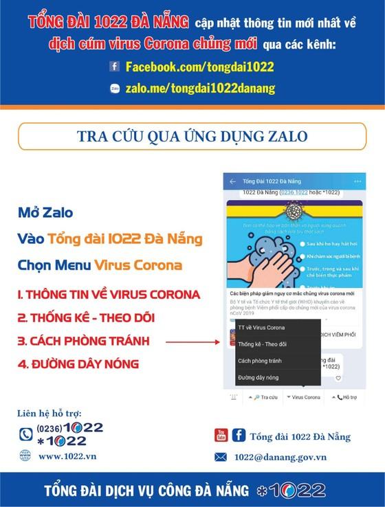 Đà Nẵng: Tổng đài 1022 thiết lập kênh cung cấp thông tin để phòng chống nCoV ảnh 1