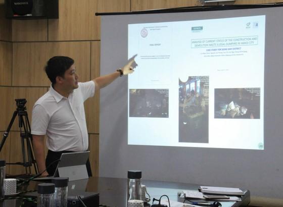 Đà Nẵng ký kết hợp tác dự án Satreps, xử lí hiệu quả rác thải xây dựng ảnh 1