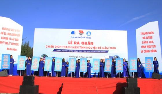 Đà Nẵng ra quân chiến dịch thanh niên tình nguyện hè năm 2020 ảnh 2
