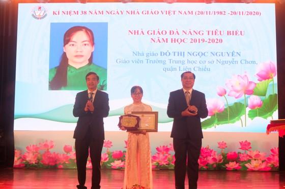 Đà Nẵng: Trao tặng danh hiệu nhà giáo tiêu biểu năm 2020 ảnh 2