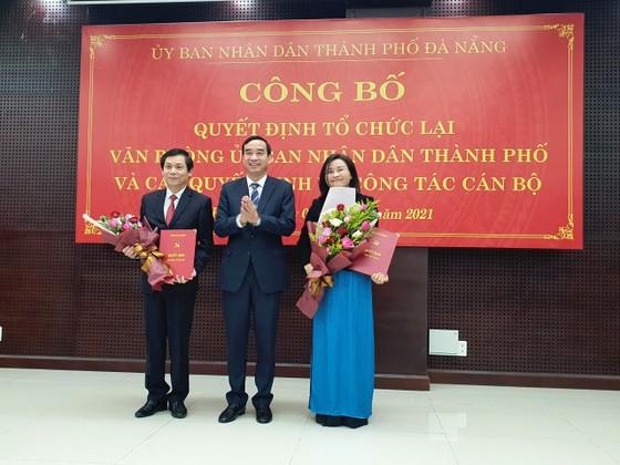 Đà Nẵng: Bổ nhiệm Giám đốc Sở VH-TT và Bí thư Quận ủy Cẩm Lệ ảnh 1
