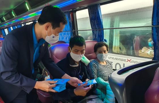 Đà Nẵng hỗ trợ xe đưa 3.000 lao động về quê đón tết ảnh 11