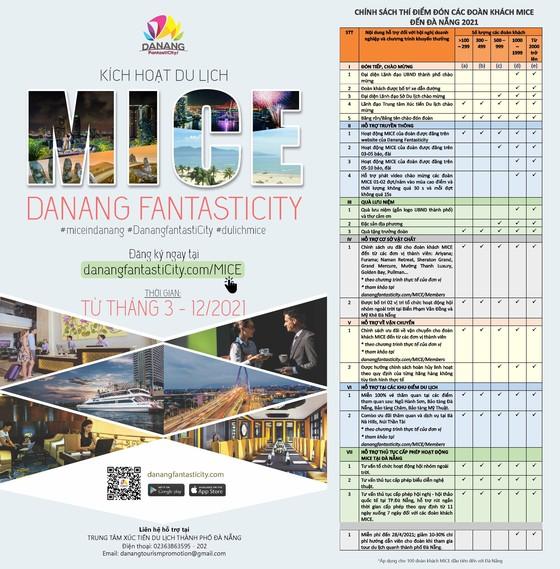 Đà Nẵng thí điểm chính sách hỗ trợ thu hút 100 đoàn khách du lịch MICE  ảnh 1