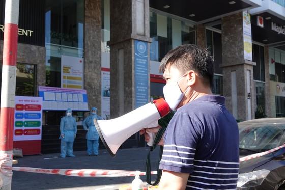 Đà Nẵng: Diễn tập bầu cử tại khu vực phong toả chung cư F-Home ảnh 13