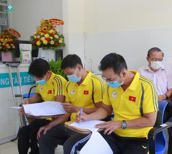Đà Nẵng: Tiêm vaccine ngừa Covid-19 cho vận động viên Paralympic Việt Nam thi đấu tại Tokyo  ảnh 1