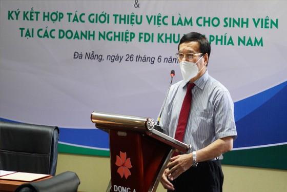 Thành lập Trung tâm xúc tiến việc làm Đại học Đông Á tại TP HCM ảnh 1