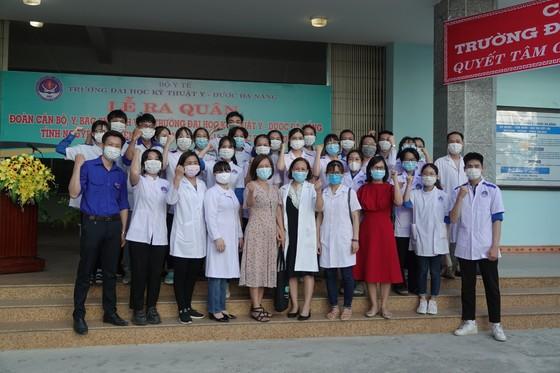Đà Nẵng: Nhiều lực lượng chi viện các tỉnh phía Nam chống dịch Covid-19 ảnh 5