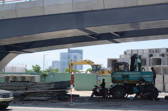 Đà Nẵng đưa cầu vượt nút giao thông phía Tây cầu Trần Thị Lý vào hoạt động ảnh 6
