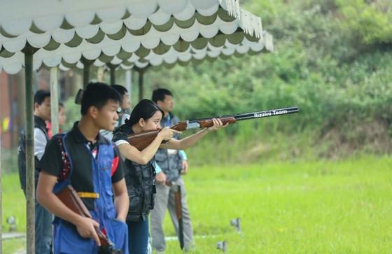 Trần Châu Tùng xô ngã kỷ lục quốc gia ở Cúp bắn súng 2018 ảnh 2
