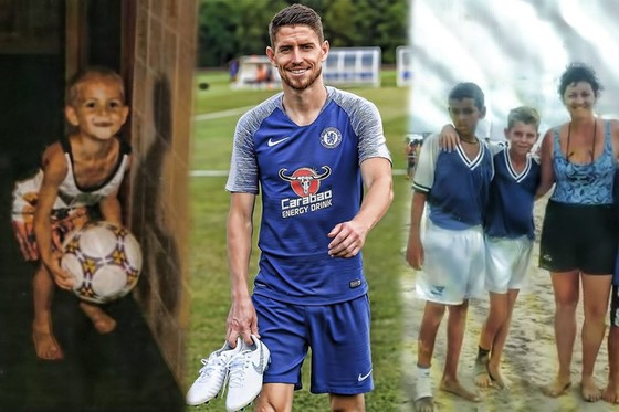 Tân binh của Chelsea, tiền vệ Jorginho: Mẹ đã dạy tôi biết chơi bóng ảnh 1