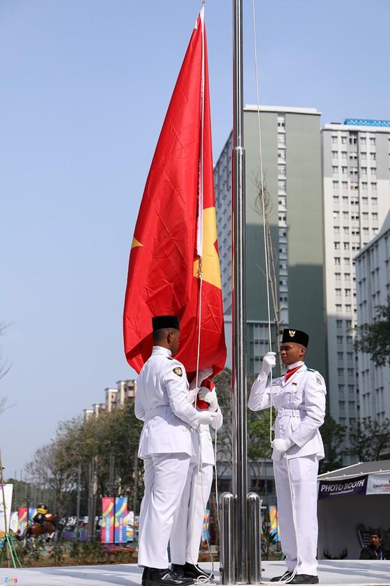 Cờ Việt Nam đã tung bay ở đấu trường Asiad 2018 ảnh 3