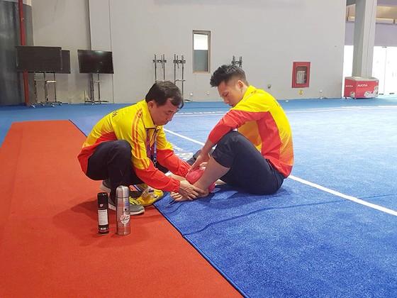 Asiad 2018: Võ sĩ wushu Trần Xuân Hiệp bỏ cuộc vì chấn thương ảnh 2