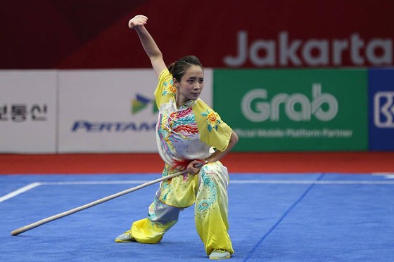 Wushu: võ sĩ Phạm Quốc Khánh đoạt HCB, Dương Thuý Vi đoạt HCĐ ảnh 2