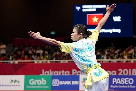 Wushu: Hoàng Thị Phương Giang đoạt HCĐ Trường quyền ảnh 2
