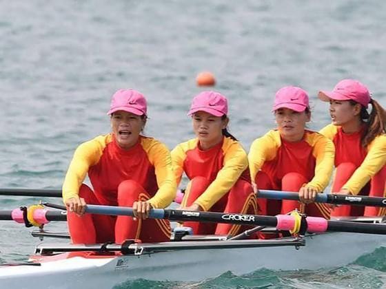 Rowing: 4 tay chèo nữ Việt Nam gây chấn động với tấm HCV châu lục ảnh 2