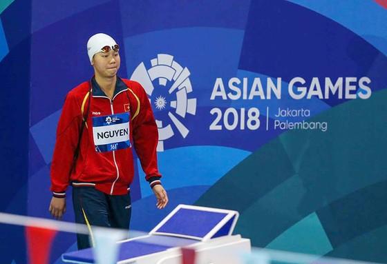 Kình ngư Nguyễn Thị Ánh Viên thi đấu không thành công tại Asiad 2018. Ảnh: DŨNG PHƯƠNG