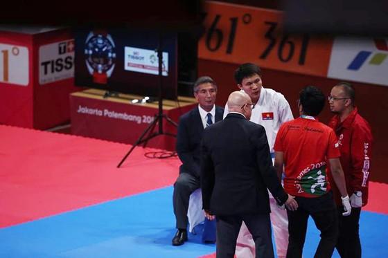 Karatedo: Quả cảm vào chung kết, Nguyễn Minh Phụng đoạt HCB ảnh 3