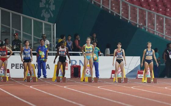 Điền kinh: Lê Tú Chinh không thể vào chung kết 100m nữ ảnh 1