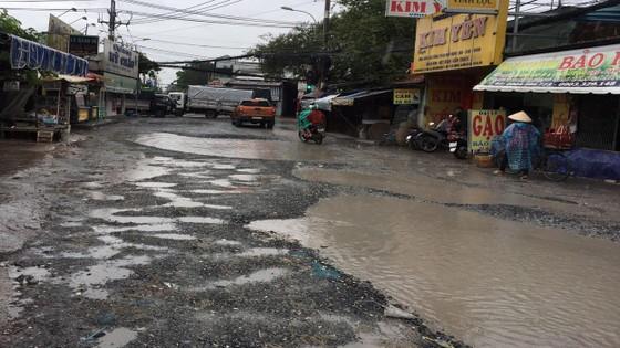 Người dân Bình Chánh gặp khó khăn vì đường xuống cấp trầm trọng ảnh 1