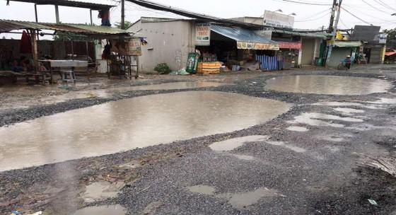 Người dân Bình Chánh gặp khó khăn vì đường xuống cấp trầm trọng ảnh 2