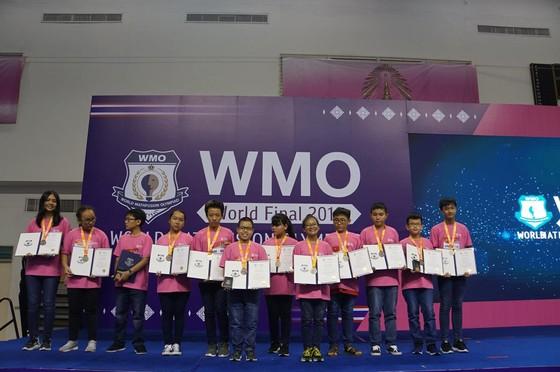 12 học sinh đoạt giải cuộc thi toán học WMO 2019 tại Thái Lan ảnh 2