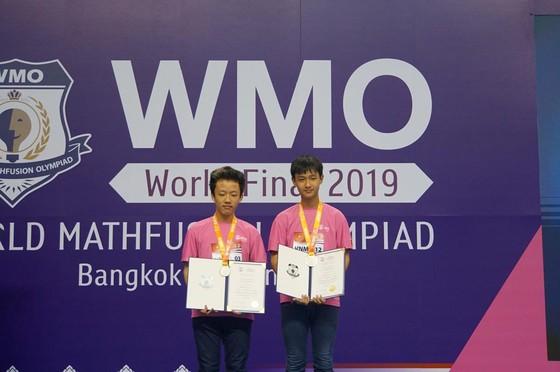 12 học sinh đoạt giải cuộc thi toán học WMO 2019 tại Thái Lan ảnh 3