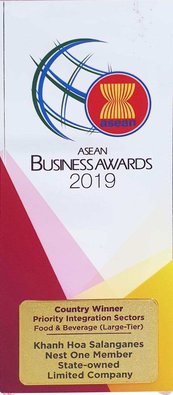 Công ty Yến sào Khánh Hòa nhận giải thưởng doanh nghiệp ASEAN (ABA) ảnh 2