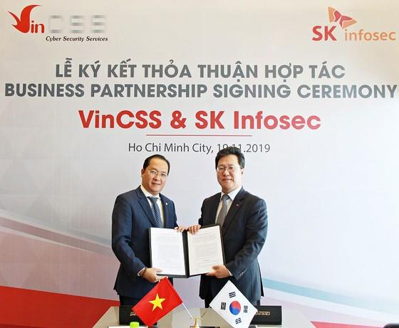 VinCSS ký thỏa thuận hợp tác an ninh mạng với SK Infosec  ảnh 1