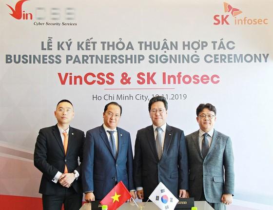 VinCSS ký thỏa thuận hợp tác an ninh mạng với SK Infosec  ảnh 2